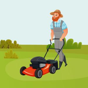Gartenpflege Rasenmähen